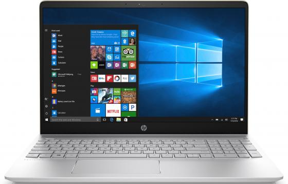 Ноутбук HP Pavilion 15-ck005ur 15.6 1920x1080 Intel Core i5-8250U 1 Tb 128 Gb 6Gb nVidia GeForce GT 940MX 2048 Мб золотистый Windows 10 Home 2PP68EA