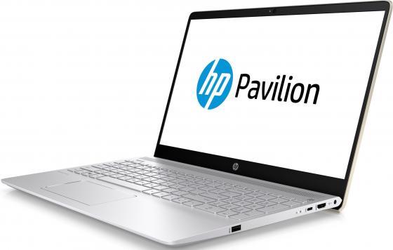 """Ноутбук HP Pavilion 15-ck005ur 15.6"""" 1920x1080 Intel Core i5-8250U 1 Tb 128 Gb 6Gb nVidia GeForce GT 940MX 2048 Мб золотистый Windows 10 Home 2PP68EA"""