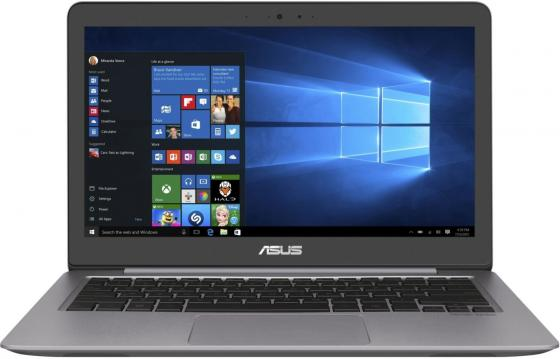 Ноутбук ASUS Zenbook UX310UA-FC468T 13.3 1920x1080 Intel Core i3-7100U 256 Gb 4Gb Intel HD Graphics 620 серый Windows 10 Home 90NB0CJ1-M14750