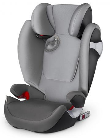 Автокресло Cybex Solution M-Fix (manhattan grey) cybex автокресло juno 2 fix 9 18 кг cybex manhattan grey 2016