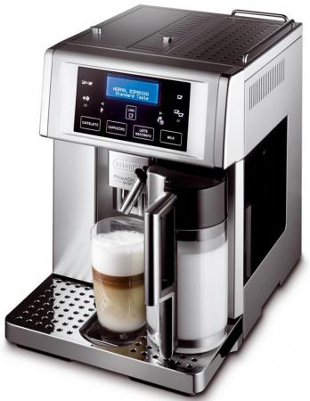 Кофемашина DeLonghi ESAM 6704M 1350 Вт серебристый