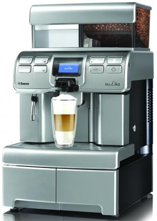 Кофемашина Saeco Aulika Top High Speed Cappuccino 1400 Вт серебристый
