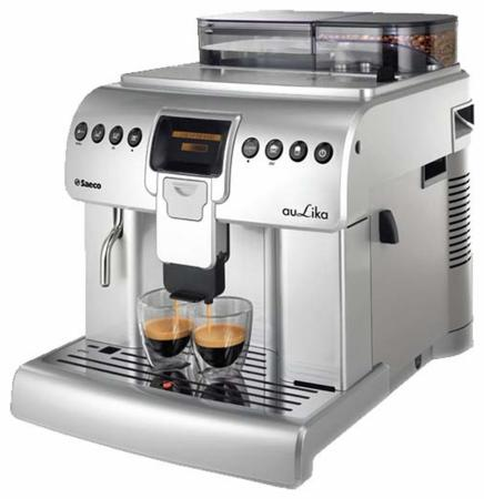 Кофемашина Saeco Aulika Focus 1400 Вт серебристый