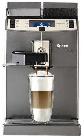 Кофемашина Saeco Lirika One Touch Cappuccino 1850 Вт серый RI9851/01 цена и фото