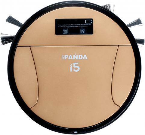 купить Робот-пылесос Panda i5 сухая влажная уборка золотистый недорого