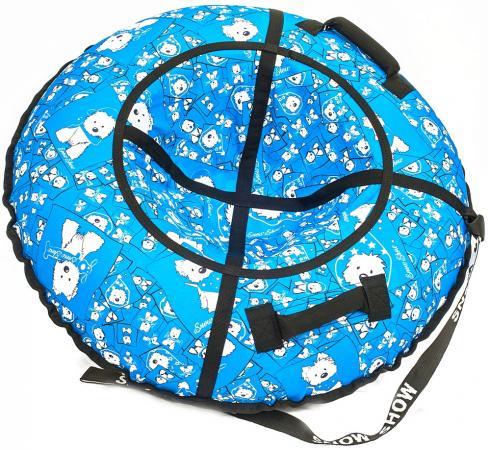 Тюбинг R-Toys Собачки на голубом до 120 кг полипропилен ПВХ рисунок 6785 тюбинг rt ural bear до 120 кг тентовая ткань рисунок 6966