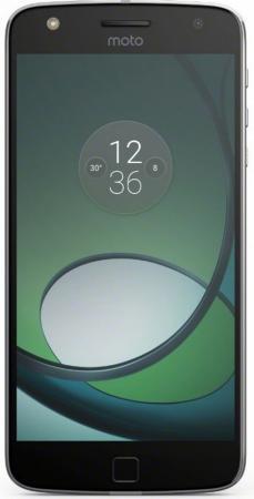 """купить Смартфон Motorola Moto Z Play черный 5.5"""" 32 Гб LTE NFC Wi-Fi GPS 3G XT1635 SM4425AE7U1 + WoodPanel ASMCAPCHAHEU недорого"""