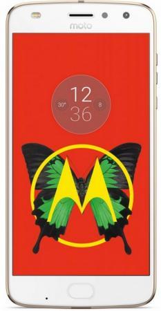 Смартфон Motorola Moto Z2 Play золотистый 5.5 64 Гб LTE NFC Wi-Fi GPS 3G XT1710 SM4481AJ1U1 + WoodPanel ASMCAPCHAHEU смартфон motorola moto z xt1650 03 белый золотистый sm4389ad1u1