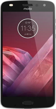 Смартфон Motorola Moto Z2 Play серый 5.5 64 Гб LTE NFC Wi-Fi GPS 3G XT1710 SM4481AC3U1 + WoodPanel ASMCAPCHAHEU смартфон motorola moto c plus золотистый 5 16 гб lte wi fi gps 3g xt1723 pa800003ru