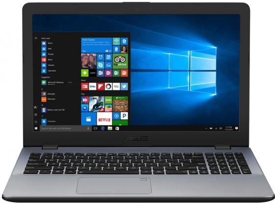 Ноутбук ASUS VivoBook 15 X542UA-GQ003T 15.6 1366x768 Intel Core i3-7100U 500 Gb 4Gb Intel HD Graphics 620 серый Windows 10 Home 90NB0F22-M02550 renfert mt 3 ua купить