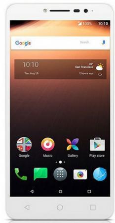 Смартфон Alcatel A3 XL 9008D белый голубой 6 16 Гб LTE Wi-Fi GPS 3G 9008D-2CALRU1 смартфон alcatel onetouch ot6055k idol 4 серый 5 2 16 гб nfc lte wi fi gps 3g