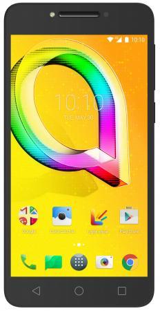 Смартфон Alcatel A5 Led 5085D черный 5.2 16 Гб LTE Wi-Fi GPS 3G 5085D-2CALRU1 смартфон alcatel onetouch ot6055k idol 4 серый 5 2 16 гб nfc lte wi fi gps 3g