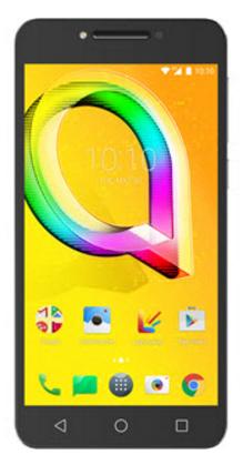 Смартфон Alcatel A5 Led 5085D коричневый 5.2 16 Гб LTE Wi-Fi GPS 3G смартфон alcatel onetouch ot6055k idol 4 серый 5 2 16 гб nfc lte wi fi gps 3g