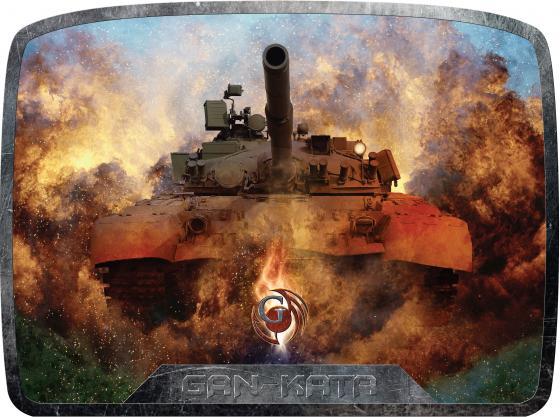 Коврик для мыши Dialog Gan-Kata PGK-20 танк коврик dialog pm h17 fish