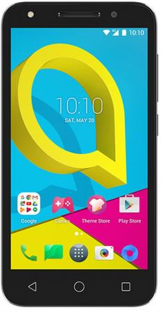Смартфон Alcatel U5 3G 4047D черный серый 5 8 Гб Wi-Fi GPS 3G 4047D-2AALRU1 смартфон micromax q397 champagne 5 5 8 гб wi fi gps 3g