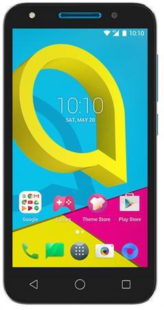 Фото Смартфон Alcatel U5 3G 4047D черный синий 5 8 Гб Wi-Fi GPS 3G (4047D-2CALRU1) смартфон jinga start серый 5 8 гб wi fi gps 3g