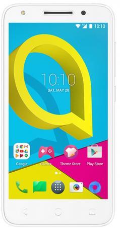 Смартфон Alcatel U5 3G 4047D белый серый 5 8 Гб Wi-Fi GPS 3G (4047D-2BALRU1) смартфон micromax q334 canvas magnus черный 5 4 гб wi fi gps 3g