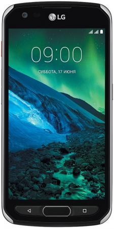 Смартфон LG X venture черный 5.2 32 Гб NFC LTE Wi-Fi GPS 3G LGM710DS.ACISBK смартфон lg x venture
