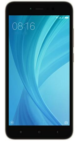 Смартфон Xiaomi Redmi Note 5A Prime серый 5.5 32 Гб LTE Wi-Fi GPS 3G смартфон micromax q334 canvas magnus черный 5 4 гб wi fi gps 3g