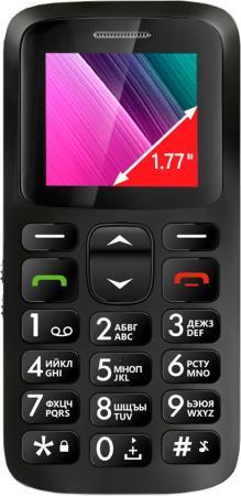 """все цены на Телефон GINZZU R11D черный 1.77"""" онлайн"""