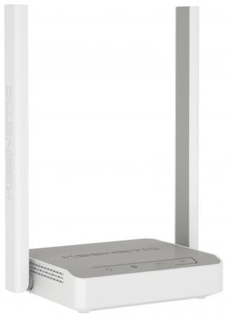 Беспроводной маршрутизатор Keenetic Start KN-1110 802.11bgn 300Mbps 2.4 ГГц 3xLAN серый белый беспроводной маршрутизатор keenetic ultra 802 11abgnac 2600mbps 2 4 ггц 5 ггц 5xlan usb серый kn 1810