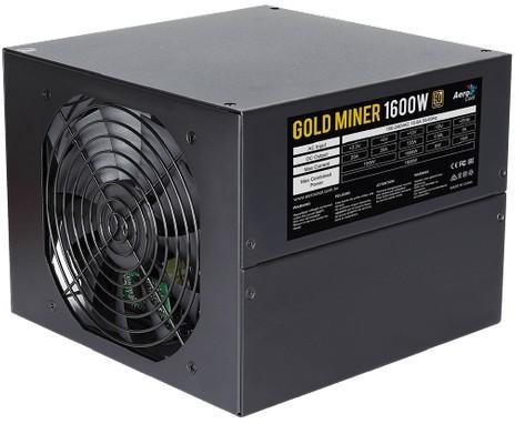 Блок питания 1600 Вт Aerocool Gold Miner 1600 цена