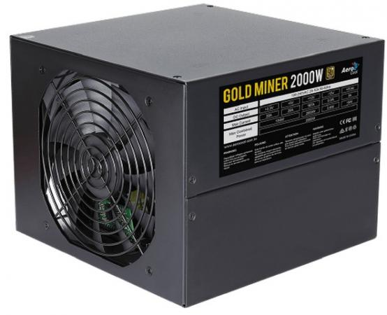 Блок питания ATX 2000 Вт Aerocool Gold Miner 2000