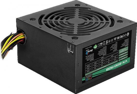 Блок питания ATX 600 Вт Aerocool VX-600 RGB