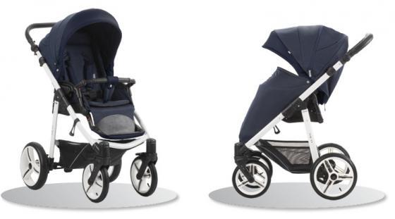 все цены на Прогулочная коляска Bebetto Nico (белое шасси/sl208) онлайн