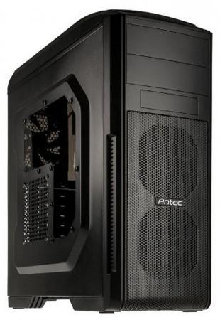 Корпус ATX ANTEC GX500 Window Без БП чёрный 0-761345-15501-4 цена и фото
