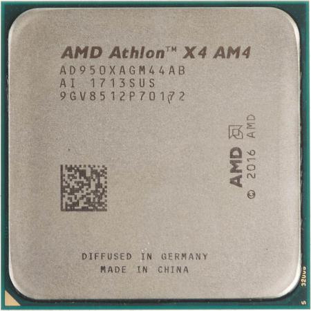 Процессор AMD Athlon X4 950 AD950XAGM44AB Socket AM4 OEM процессор amd athlon ii x4 830 fm2 ad830xybi44ja 3ghz oem
