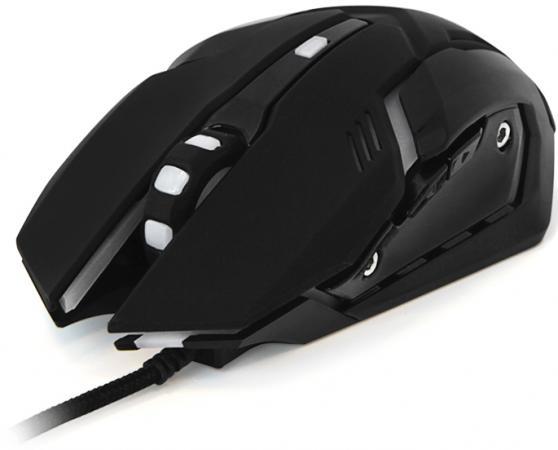 Мышь проводная CBR CM 853 Armor чёрный USB мышь cbr cm 500 grey
