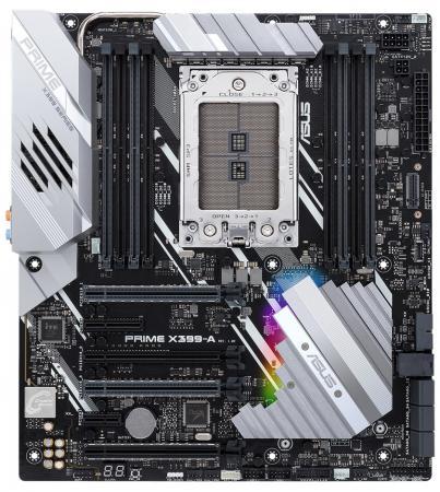 Материнская плата ASUS PRIME X399-A Socket TR4 AMD X399 8xDDR4 4xPCI-E 16x 1xPCI-E 1x 1xPCI-E 4x 6xSATAIII EATX Retail материнская плата asus h81m r c si h81 socket 1150 2xddr3 2xsata3 1xpci e16x 2xusb3 0 d sub dvi vga glan matx