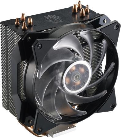 Кулер для процессора Cooler Master MasterAir MA410P Socket 2066/2011-v3/2011/1151/1150/1155/1156/1366/AM4/AM3+/AM3/AM2+/AM2/FM2+/FM2/FM1 cooler for cpu cooler master masterair maker 8 maz t8pn 418pr r1 775 1366 1156 1155 1150 2011 2011v3 am3 am3 am2 fm2 fm2 fm1