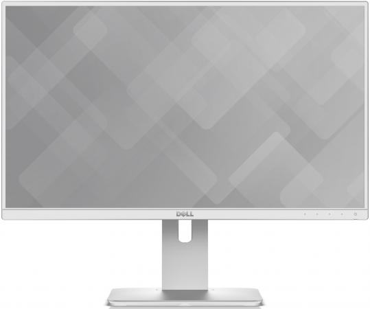 Монитор 23.8 DELL UltraSharp U2417H белый IPS 1920x1080 250 cd/m^ 6 ms HDMI DisplayPort Mini  Аудио USB -6660
