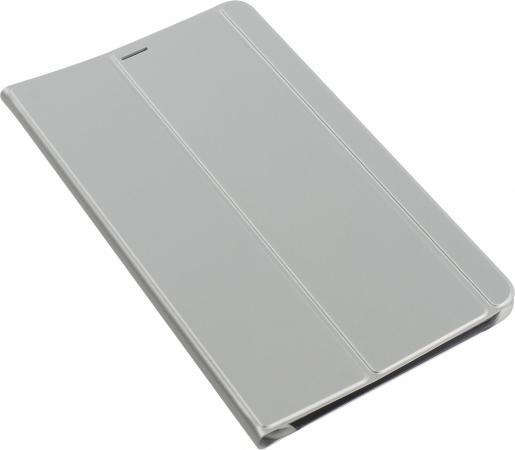 Чехол Samsung для Samsung Galaxy Tab A 8.0 Book Cover полиуретан/поликарбонат серебристый EF-BT385PSEGRU планшет samsung galaxy tab a sm t350 sm t350nzkaser