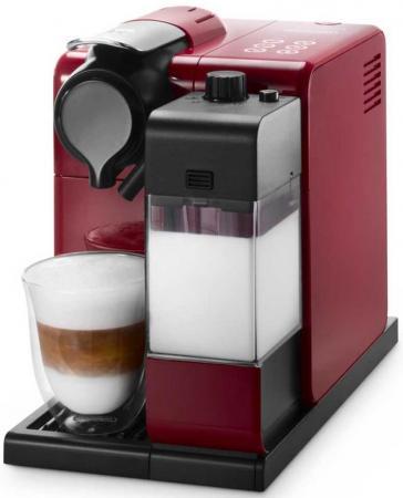 лучшая цена Кофемашина DeLonghi Lattissima Touch EN550.R 1400 Вт красный