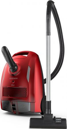 Фото - Пылесос DAEWOO RGH-210R сухая уборка красный чёрный пылесос daewoo rgh 210r сухая уборка красный чёрный