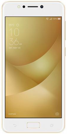 Смартфон ASUS Zenfone 4 Max ZC520KL золотистый 5.2 32 Гб LTE Wi-Fi GPS 3G 90AX00H2-M01610 смартфон asus zenfone zf3 laser zc551kl золотистый 5 5 32 гб wi fi lte gps 3g 90az01b2 m00050