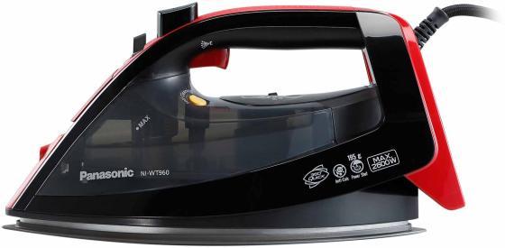 Утюг Panasonic NI-WT960RTW 2600Вт чёрный красный led телевизор samsung ue65mu6670
