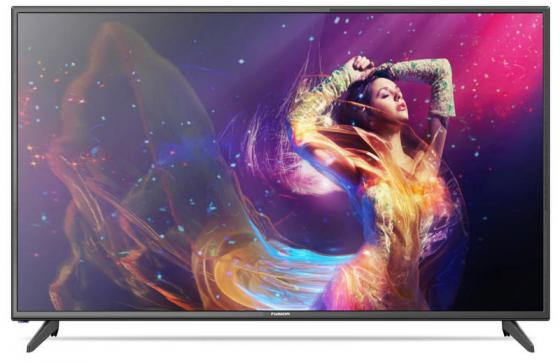Телевизор 50 FUSION FLTV-50B100T черный 1920x1080 50 Гц HDMI USB VGA телевизор led 24 fusion fltv 24a100t черный 1366x768 usb hdmi ci slot vga разьем для наушников