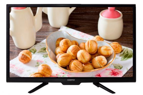 """Телевизор LED 28"""" Harper 28R660T черный 1366x768 50 Гц USB VGA цена и фото"""