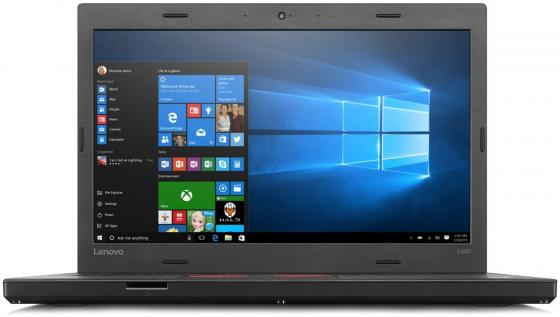 Ноутбук Lenovo ThinkPad L460 14 1366x768 Intel Core i5-6200U 500 Gb 4Gb Intel HD Graphics 520 черный Без ОС 20FVS28200 ноутбук lenovo thinkpad l450 core i5 5200u 8gb ssd180gb intel hd graphics 5500 14 черный