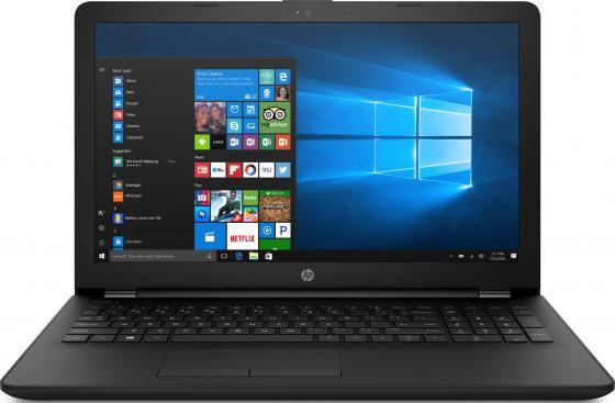"Ноутбук HP 15-bs022ur 15.6"" 1920x1080 Intel Pentium-N3710 128 Gb 4Gb AMD Radeon 520 2048 Мб черный Windows 10 Home 1ZJ88EA"