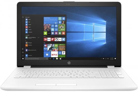 Ноутбук HP 15-bs596ur 15.6 1920x1080 Intel Pentium-N3710 500 Gb 4Gb AMD Radeon 520 2048 Мб белый Windows 10 Home 2PV97EA ноутбук hp 15 bs596ur 15 6 1920x1080 intel pentium n3710 2pv97ea