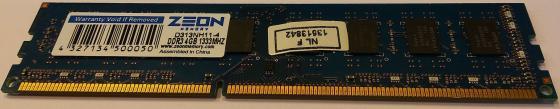 Оперативная память 4Gb PC3-10600 1333MHz DDR3 DIMM Zeon D313NH11-4 оперативная память 8gb pc3 15000 2133mhz ddr3 dimm dell 370 abuj
