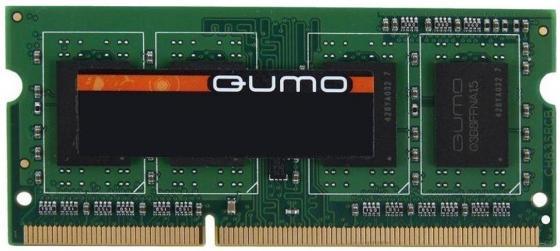 Оперативная память для ноутбуков SO-DDR3 4Gb PC12800 1600MHz QUMO QUM3S-4G1600K11L оперативная память ddr3 2gb pc12800 1600mhz crucial ct25664bd160bj