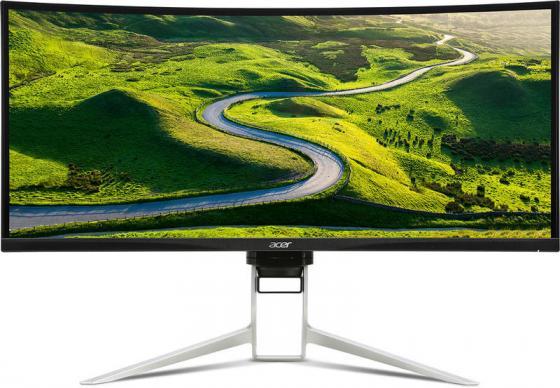 МОНИТОР 34 Acer XR342CKBMIJPHUZX Black (IPS, LED, Wide, 3440x1440, 4ms, 178°/178°, 300 cd/m, 100,000,000:1, +HDMI, +MM, монитор 27 acer prodesigner pe270kbmiipruzx black ips led wide 3840x2160 6ms 178° 178° 350 cd m 100 000 000 1