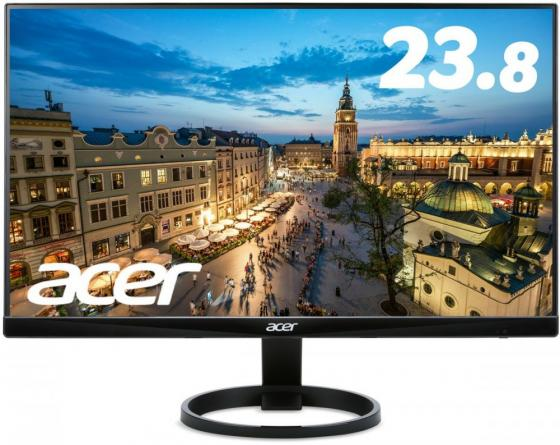 Монитор 24 Acer R240HYAbmidx черный VA 1920x1080 250 cd/m^2 4 ms DVI HDMI VGA Аудио