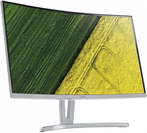 Монитор 27 Acer ED273wmidx серебристый VA 1920x1080 250 cd/m^2 4 ms Аудио DVI-D HDMI VGA UM.HE3EE.005 монитор 27 samsung c27f591fdi серебристый va 1920x1080 250 cd m^2 4 ms hdmi displayport vga аудио